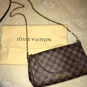 Louis Vuitton favorite handbag